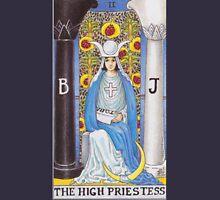 Tarot Card - The High Priestess Womens Fitted T-Shirt