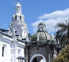 Quito architecture. by Anne Scantlebury
