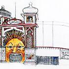 Luna Park, St. Kilda by Roz McQuillan