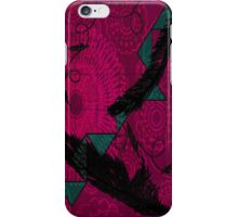 Falling Feathers iPhone Case/Skin