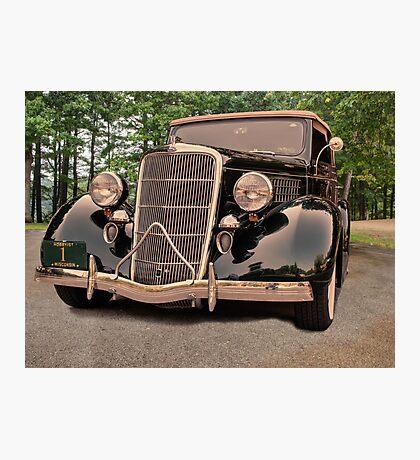 1935 Ford V8 Photographic Print