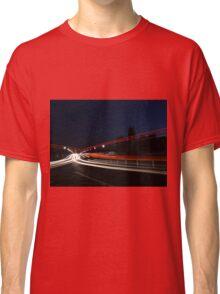 Arlington Memorial Bridge at night Classic T-Shirt