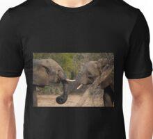 OK, let's shake trunks on it! Unisex T-Shirt