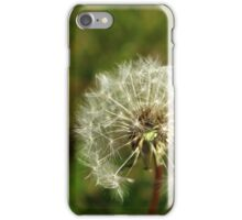 Dandelion Puff iPhone Case/Skin