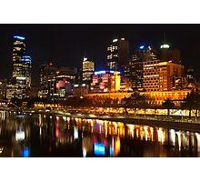 0833 City at Night 2 Photographic Print