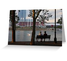 A Perfect Evening Out - Covington Kentucky Greeting Card