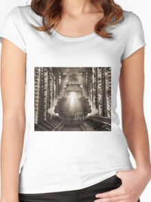 The Trestle Women's Fitted Scoop T-Shirt