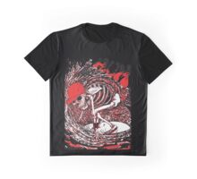 SURFER SKULL Graphic T-Shirt