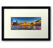Campbell's Cove Panorama + HDR Framed Print