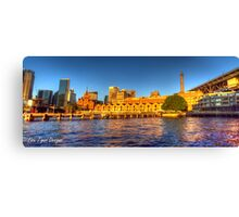Campbell's Cove Panorama + HDR Canvas Print