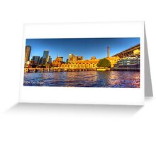 Campbell's Cove Panorama + HDR Greeting Card