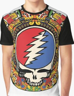 2012 Mayan Steal Your Face - Full Color Graphic T-Shirt