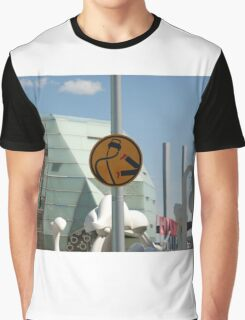 0837 Pedestrians are double points this week Graphic T-Shirt