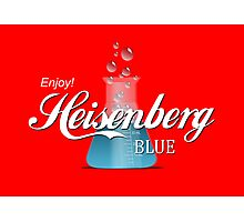 Enjoy Heisenberg Blue Photographic Print