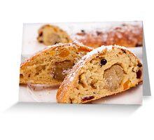 Stollen Bread Greeting Card