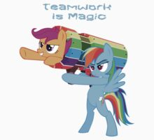 Teamwork Is Magic by eeveemastermind