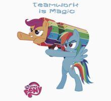 Teamwork Is Magic by eeveemastermind