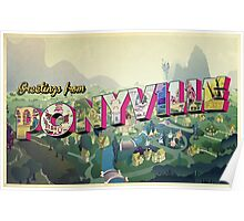 Greetings from Ponyville Poster