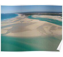 Scenic coast of Broom, Western Australia Poster