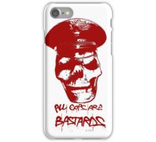 ACAB RED iPhone Case/Skin