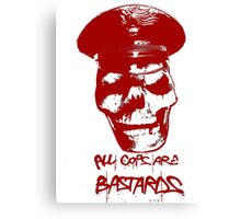 ACAB RED Canvas Print