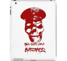 ACAB RED iPad Case/Skin