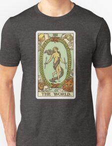 Tarot Card - The World Unisex T-Shirt