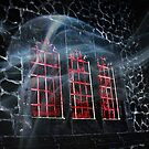 Bloody Windows In the Haunted Castle by Jane Neill-Hancock