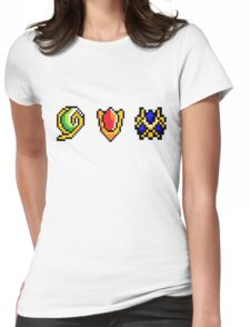 Spiritual Stones  Womens Fitted T-Shirt