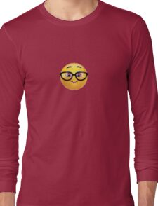 Nerd Emoji Long Sleeve T-Shirt