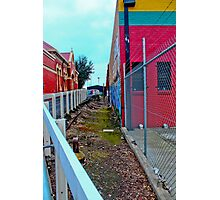Urban Art By The Station Photographic Print
