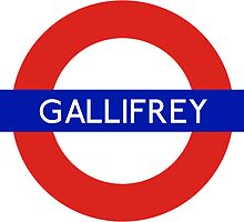 Doctor Who Gallifrey Tube Symbol by ThetaSigma12