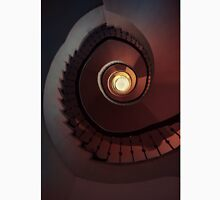 Spiral staircase in red and brown Classic T-Shirt