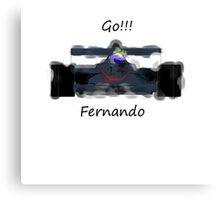 Go Fernando! Canvas Print