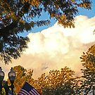 Clouds And Flags by Chet  King