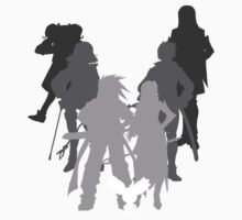 Tales of the Abyss cast silhouette by BondofBlood