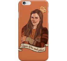 Molly Hooper: Queen of his mind palace iPhone Case/Skin