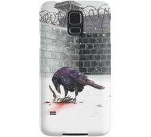 Crow, Bloody Snow Samsung Galaxy Case/Skin
