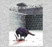 Crow, Bloody Snow Kids Tee