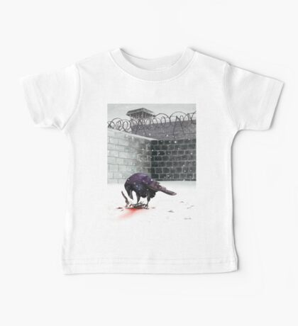 Crow, Bloody Snow Baby Tee