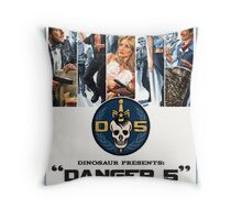 Danger 5 Official Poster Throw Pillow