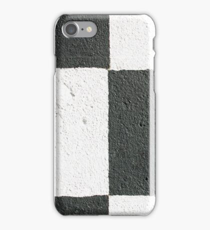 Black and White Wall iPhone Case/Skin