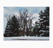 Trees in Snow Kids Tee