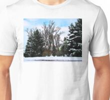 Trees in Snow Unisex T-Shirt