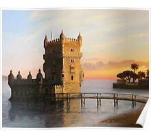 Belem Tower in Lisbon Poster