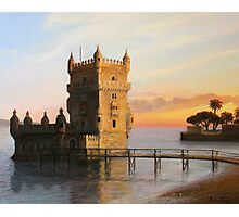 Belem Tower in Lisbon Photographic Print