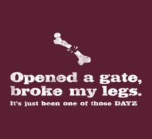 Opened a gate, broke my legs... by thehorror