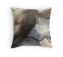 amass and decay Throw Pillow