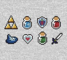 Zelda Items by von-bats