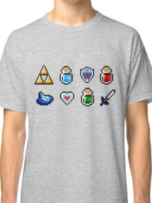 Zelda Items Classic T-Shirt